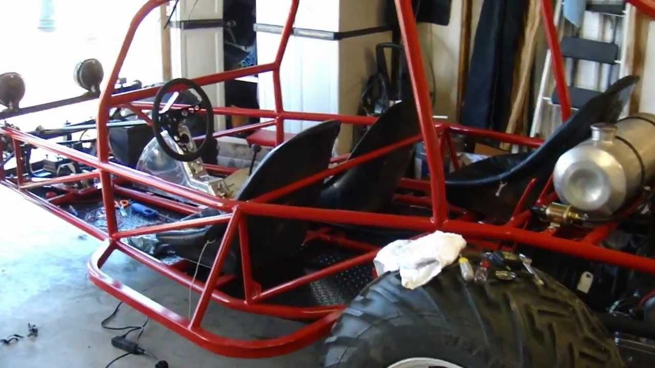 4 Seat Vw Rail Buggy Build First Start Youtube