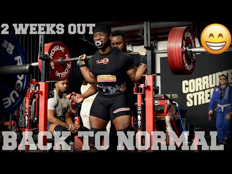 Coming Back To Life | 2 Weeks Out