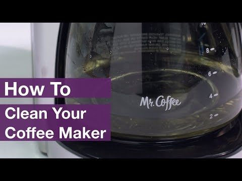 How to Clean Mr. Coffee® Coffee Makers