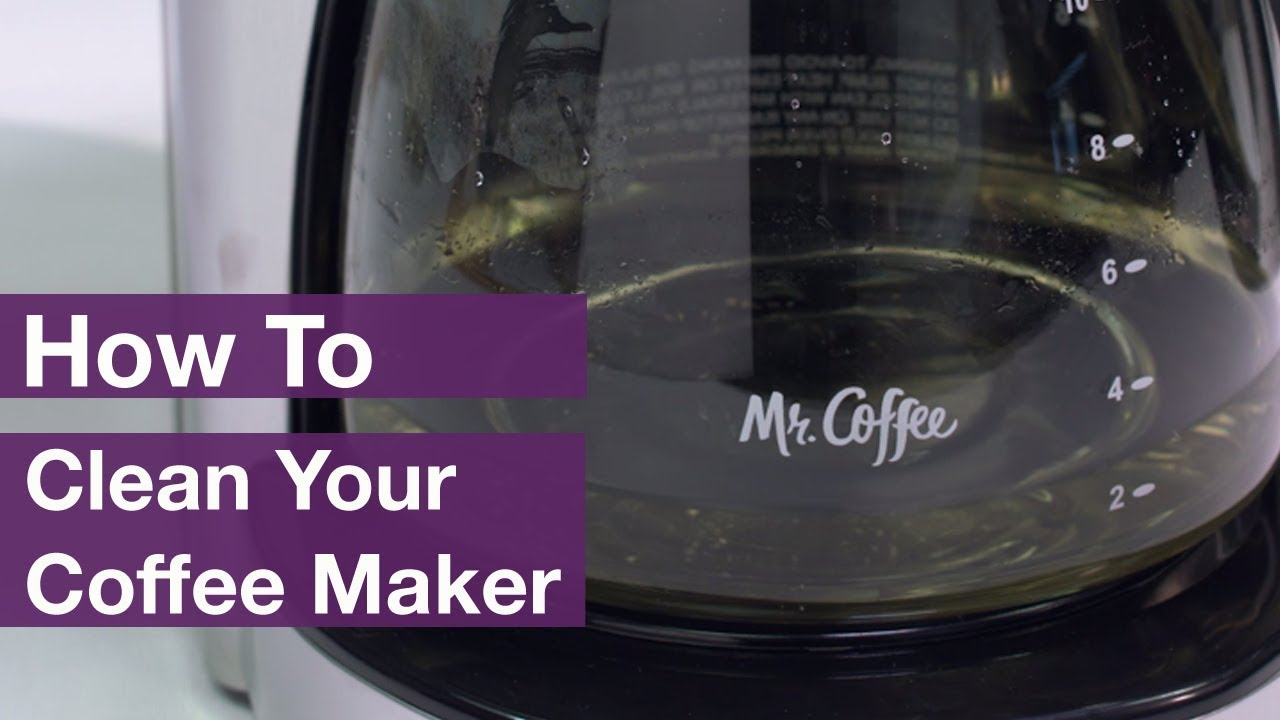 How To Clean Mr Coffee Makers Youtube Heating Zone Valve Wiring Diagram