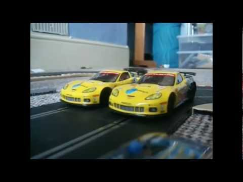 Scalextric Modification: Modified vs Unmodified Chevrolet Corvette C6R Detailed