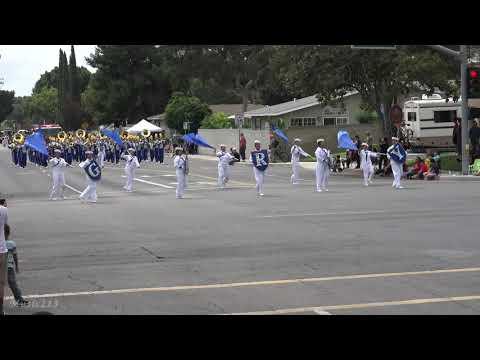 Garey HS - Anchors Aweigh - 2018 Tustin Tiller Days Parade