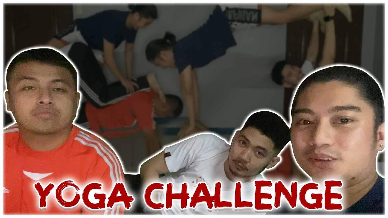 3 PERSON YOGA CHALLENGE (TEAM CHOI)