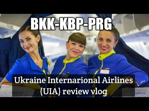 🛫Ukraine International Airlines Review | BKK-KBP-PRG | Low Cost Carrier Or Full Service?