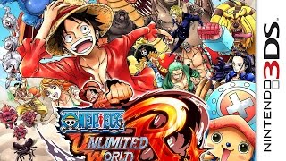 CGR Undertow - ONE PIECE: UNLIMITED WORLD RED review for Nintendo 3DS