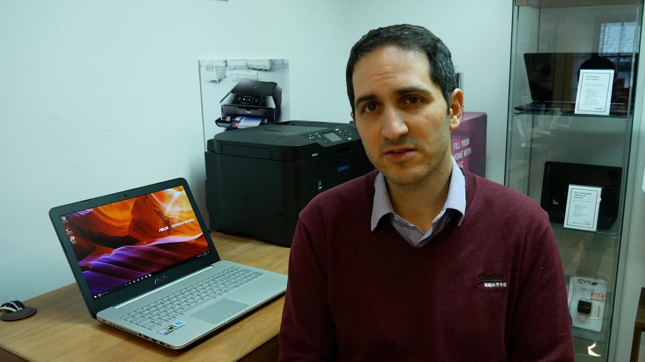 Asus VivoBook Pro N552VX - YouTube