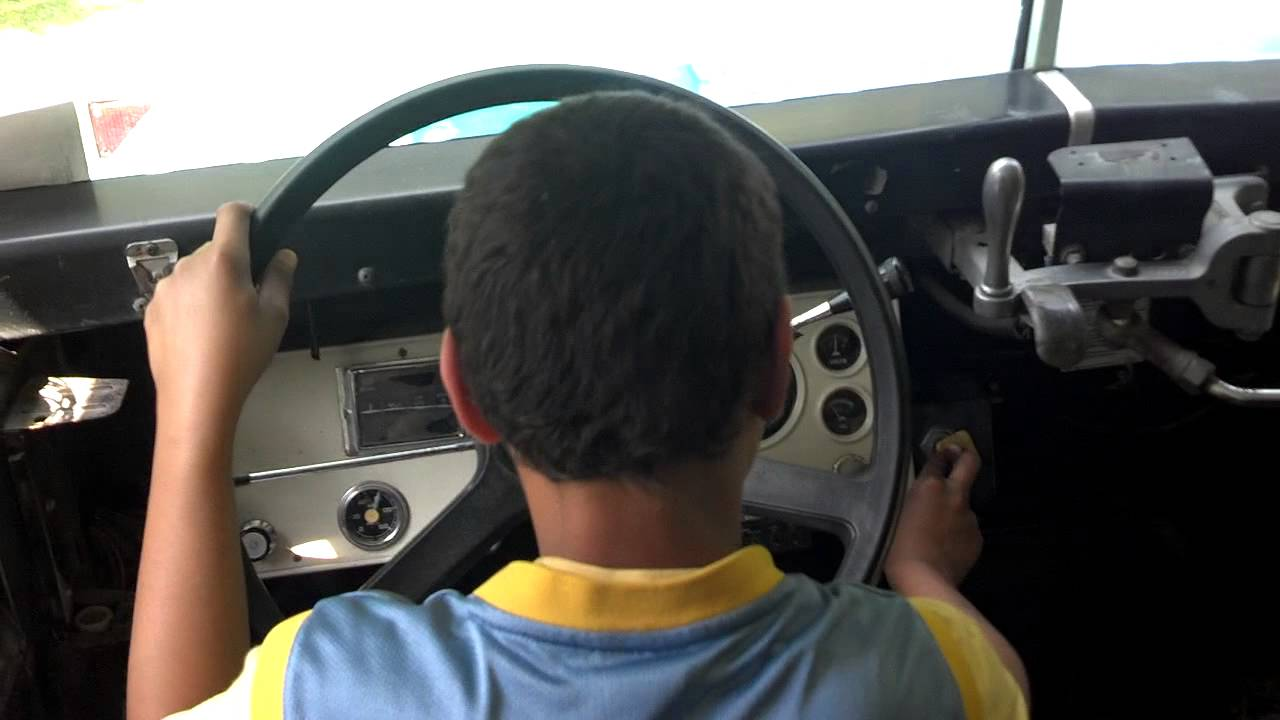 Year Old Kid Driving A Car