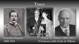 Puccini: Tosca, Callas & Di Stefano & Gobbi (1953) プッチーニ トスカ カラス&ディ・ステファノ&ゴッビ
