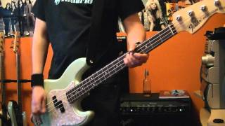 "Blink-182 ""The Rock Show"" Bass Cover"