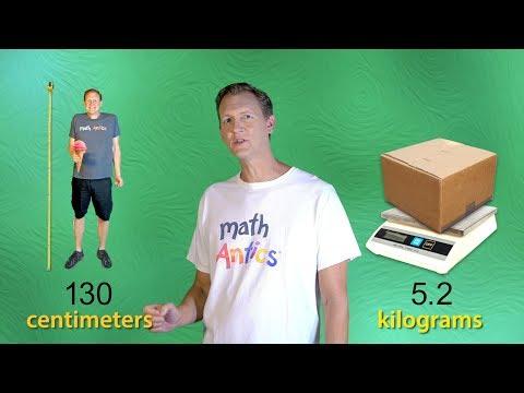Math Antics - Intro to the Metric System