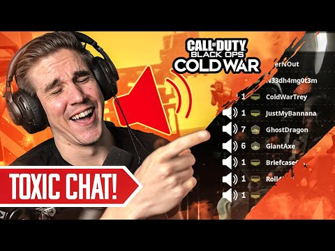 MEETING THE ANGRIEST TRASHTALKERS!! HILARIOUS VOICE CHAT ENDING! (Black Ops Cold War)