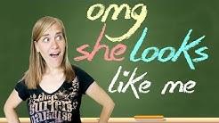 German Lesson (313) - OMG! She looks like me! - ähnlich - sich ähneln - Ähnlichkeit - B1/B2