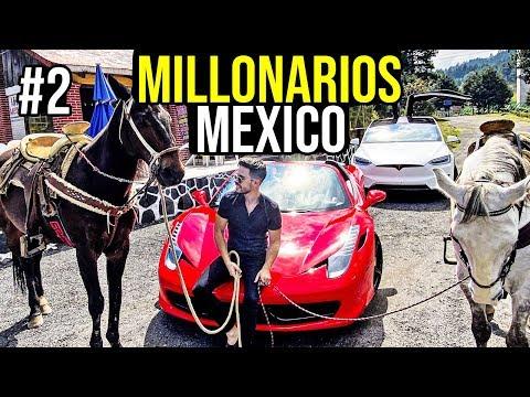 LOS MILLONARIOS DE MEXICO Y SUS EXCENTRICIDADES