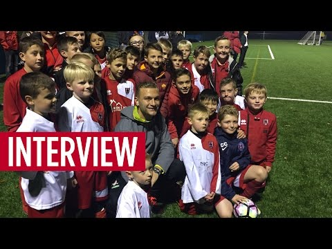 Ben Gibson Unveils New 3G Pitch At Laurence Jackson School