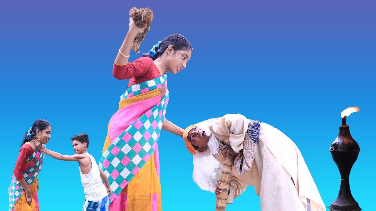 বাংলা ফানি ভিডিও বর্ষা বাতি দিয়ে জান্নাত খোজে। স্বামীর পায়ের  তলে স্ত্রীর  জান্নাত।