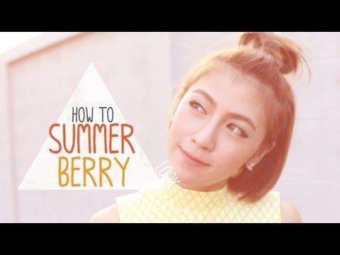 How to แต่งหน้าสวยๆรับฤดูร้อน กับ แอปเปิ้ล สีสะเหงียน Appleminiberry