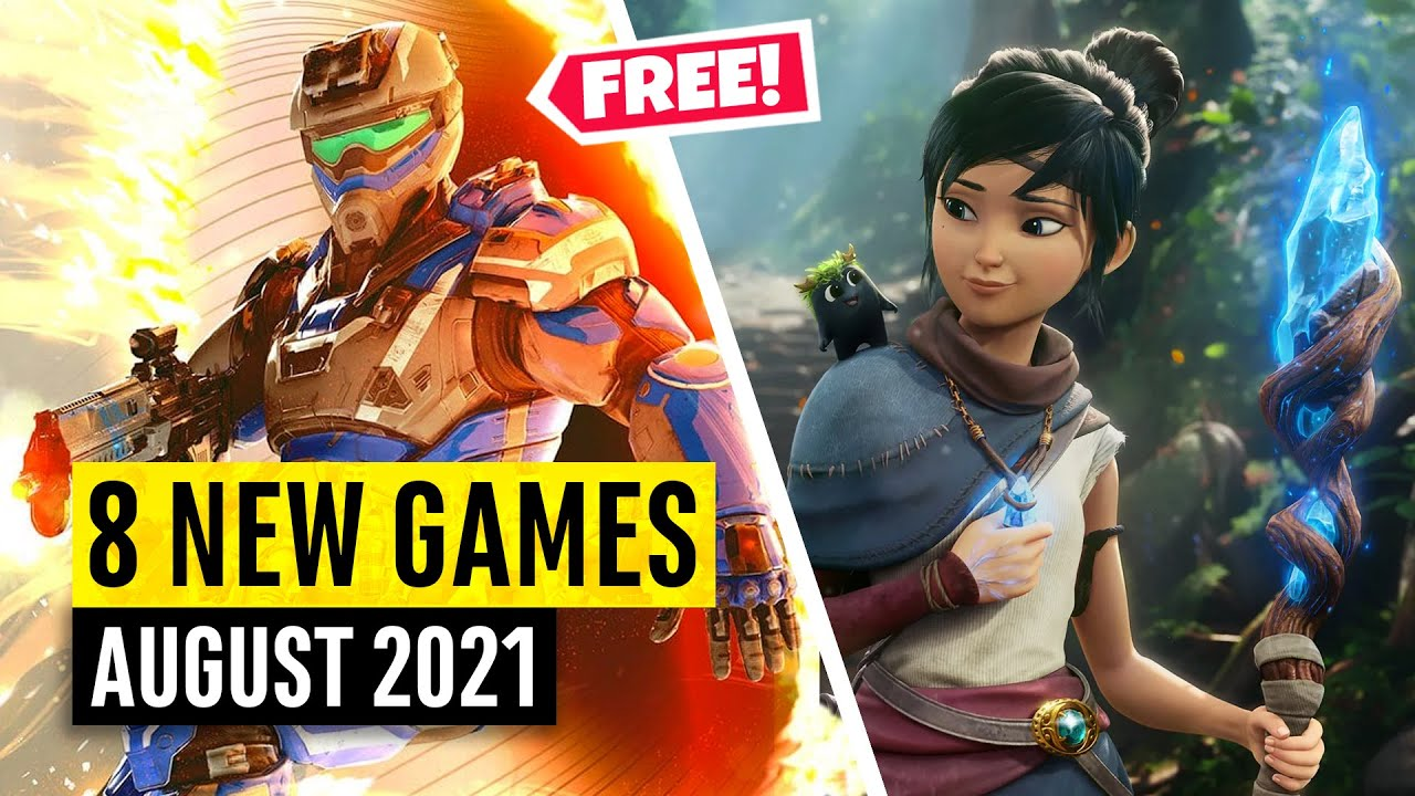 8 New Games August (2 FREE GAMES)