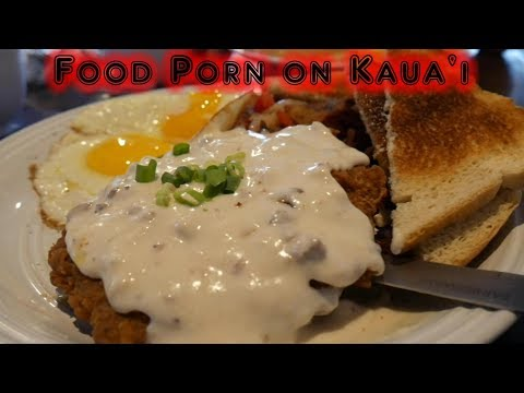 Where to eat breakfast on Kauai | Food Porn Hawaii Edition | Kapaa | Real life in paradise |  Vlog