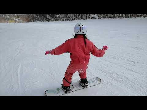 Hanako Snowboard in Japan 2019