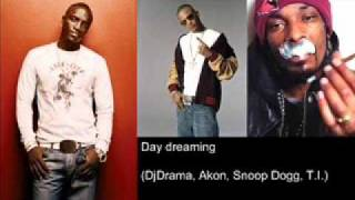 DJ DRAMA & AKON, SNOOP DOGG, T.I. - Day Dreaming (Audio + LINK)