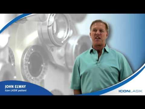 John Elway Discusses LASIK Eye Surgery | ICON LASIK