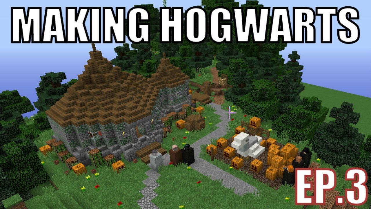 Building Hogwarts Minecraft