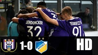 Video Gol Pertandingan Anderlecht vs APOEL