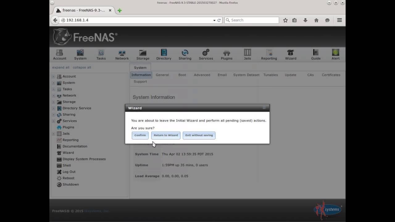 Configure Samba on FreeNAS