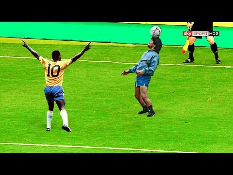 Maradona vs Pelé – Legendary Moments