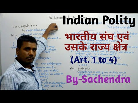 Indian Polity- the Union and it's territory