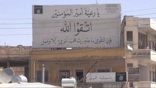 كاميرا أخبار الآن تجوب مقر جهاز الحسبة وسجنها في مدينة منبج بريف حلب