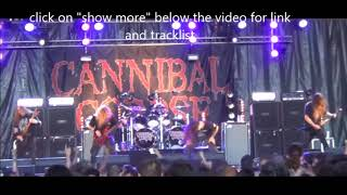 """CANNIBAL CORPSE new album """"Red Before Black"""" + tracklist and art unveiled!"""