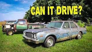 Will It Run? Abandoned Dodge First Start After 17 Years: Part 2