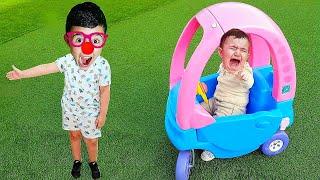 Celina Opens Surprise toys Box - سيلينا وصندوق المفاجئة للاطفال