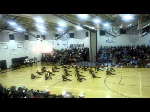 Quince Orchard High School Pom Competition 2013