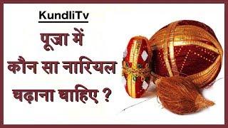 पूजा में कौनसा नारियल चढ़ाना चाहिए ? सूखा या पानी वाला | pooja me nariyal kaise rakhe | 26 May