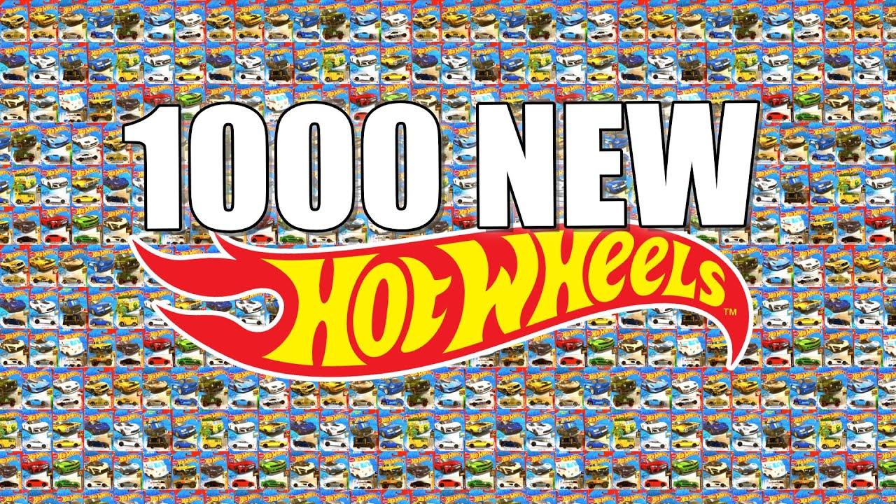 Let's Open 1000 Hot Wheels