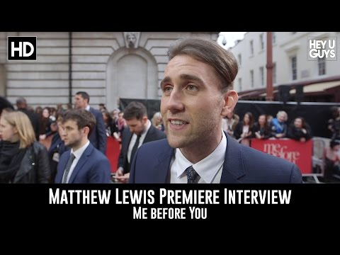 Matthew Lewis Interview - Me Before You Premiere