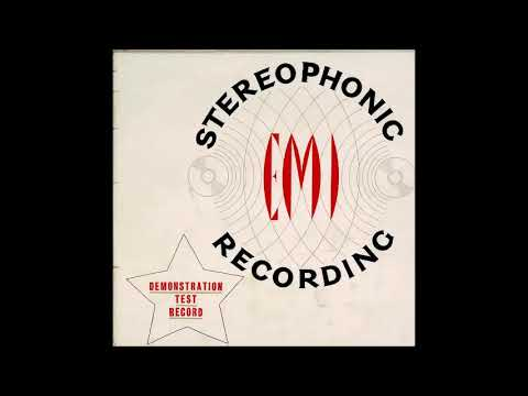 EMI Stereophonic Recording  Demonstration Test Record 1958