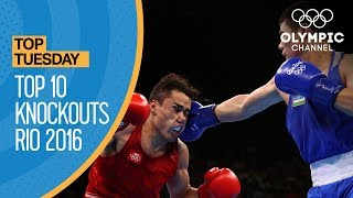 Top 10 Knockouts At The Rio 2016 Olympics