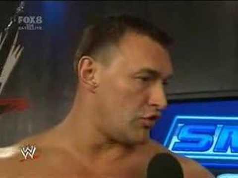 SmackDown 3/16/08 Part11: Interview w/ Vladimir Kozlov