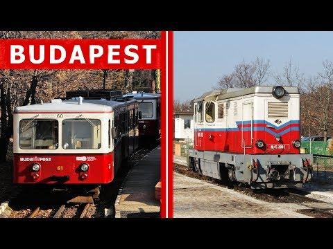 4 koleje turystyczne Budapesztu / 4 Retro Railways in Budapest