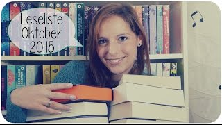 LESELISTE WANT TO READ Oktober 2015 | Was ein Haufen.. | melodyofbooks