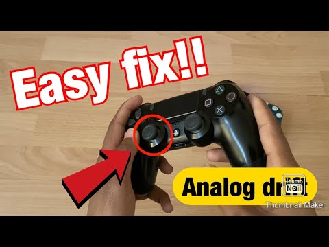 *UPDATED* HOW TO FIX Analog Drift on PS4 CONTROLLER EASY FIX 100% Analog Stick moving by itself PS4!