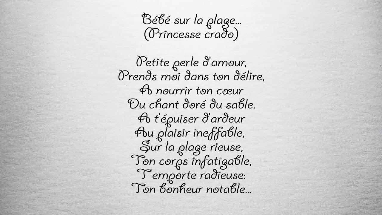 Poème Bébé Sur La Plage Parfum Dhommes Philippe Blanc
