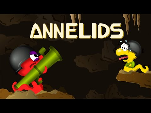 Annelids: Worms battle - Official trailer