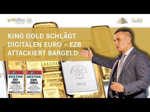King Gold Schlägt Digitalen Euro – EZB Attackiert Bargeld − Webinar Mit M.Blaschzok (09.10.2020)