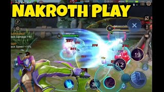 Nakroth Pro Play!! How to Make Easy