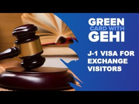 J-1 Visa for Exchange Visitors | Apply J-1 Visa