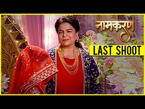 Reema Lagoo Last Shoot | Naamkaran's LAST EPISODE With Reema Lagoo | TellyMasala